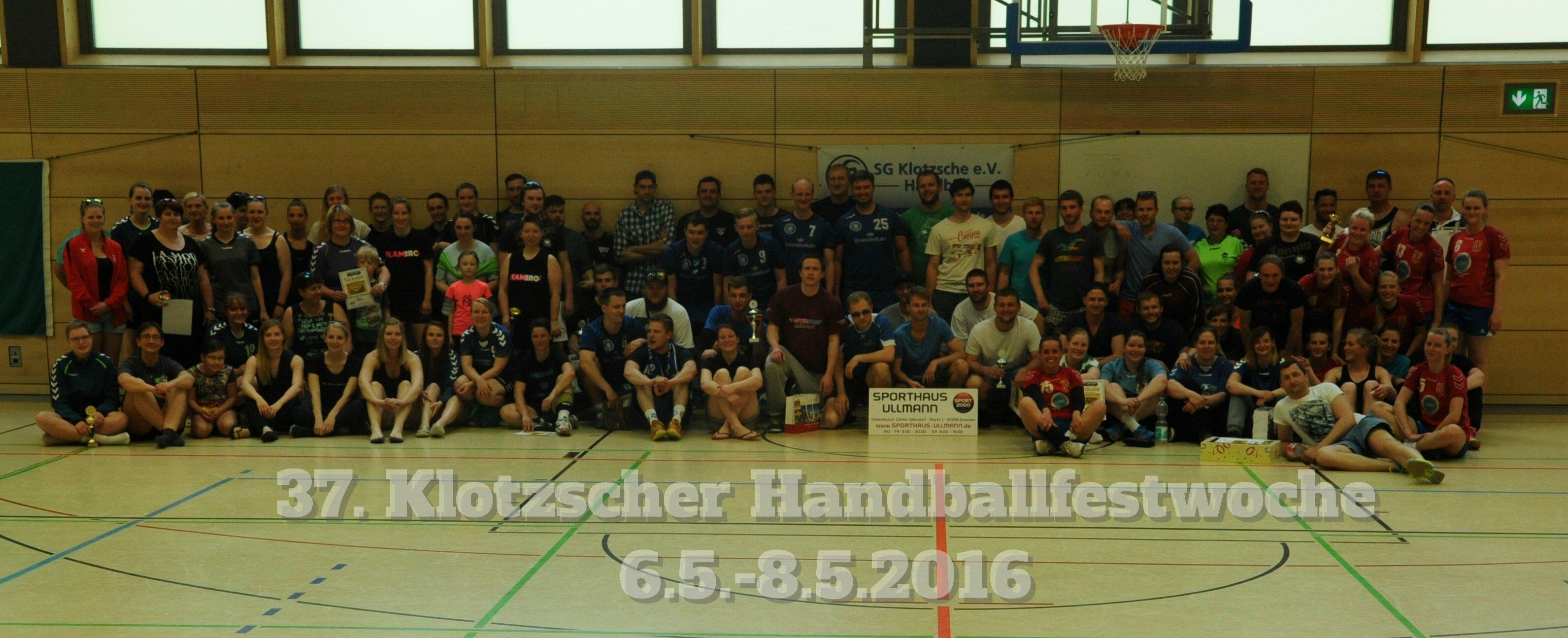 37. Klotzscher Handballfestwoche