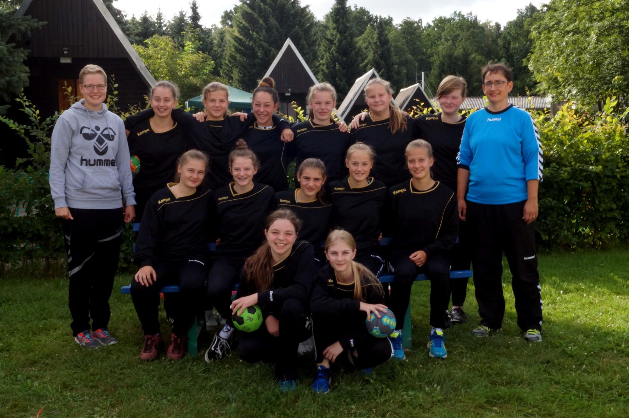 weibliche Jugend C - Trainingslager 2017